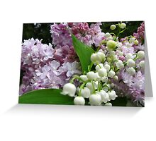 Inhale and smile Greeting Card