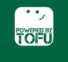 Powered by tofu Unisex T-Shirt