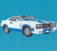 Ford Falcon XC GT Cobra by Peta-Reilly