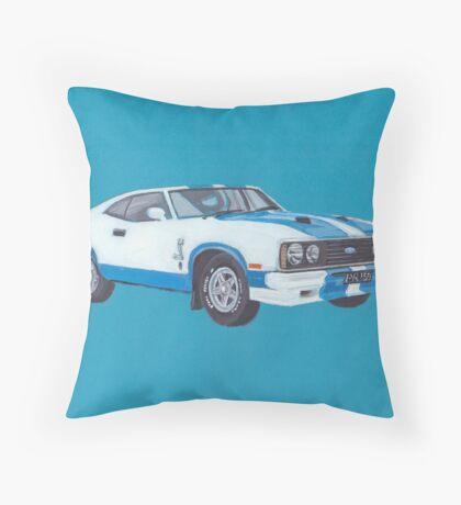 Ford Falcon XC GT Cobra Throw Pillow
