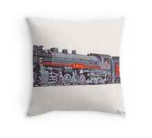 Selkirk - Canadian Pacific Railway Locomotive 5905 Throw Pillow