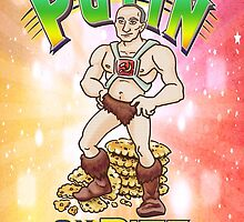 Putin on the Ritz Poster by Karl Frey