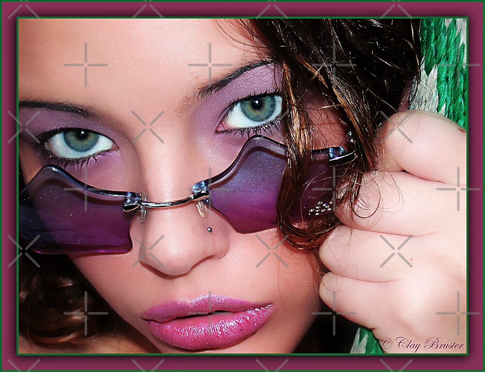 Green Eye'd Girl by Clayton Bruster