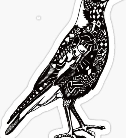 Australian Magpie Sticker