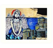 Angel of the Night Art Print