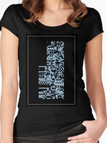 Pokemon Missingno. Blue Version Women's Fitted Scoop T-Shirt
