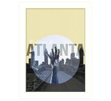 The Walking Dead Atlanta Art Print