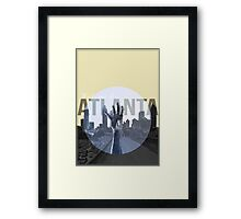 The Walking Dead Atlanta Framed Print