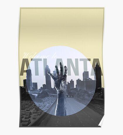 The Walking Dead Atlanta Poster