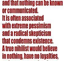 Nihilism by givemefive