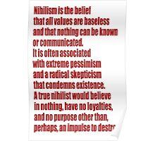 Nihilism Poster