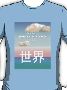 Porter Robinson Worlds Kaomoji Logo Design T-Shirt