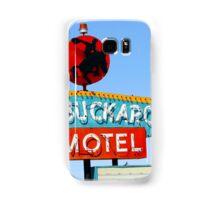 Buckaroo Motel Sign, Tucumcari, New Mexico Samsung Galaxy Case/Skin