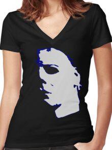 Michael Women's Fitted V-Neck T-Shirt