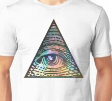 Cosmic Eye of Providence Unisex T-Shirt