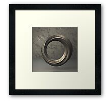 Marble Brush 04 Framed Print