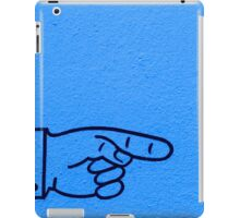 Direction Blue iPad Case/Skin