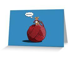 Grrrrrrrreeting cards and prints! Greeting Card