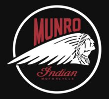 Vintage Spirit Of Munro Power Of Indian Motorcycle by RomeroST