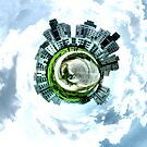 "Little planet city by "" RiSH """