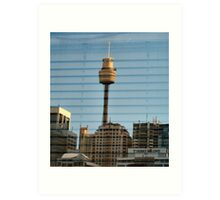 Reflection - Sydney Tower Art Print