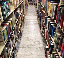 Columbia University Library Stacks by jcooper10