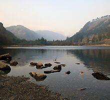 Early morning in Glendalough valley by John Quinn
