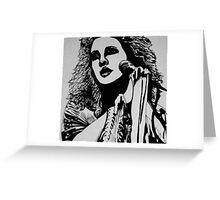 Songbird - Stevie Nicks Greeting Card