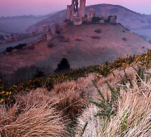 Corfe before dawn by outwest photography.co.uk
