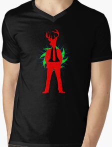 Bachelor Night T-Shirt Mens V-Neck T-Shirt
