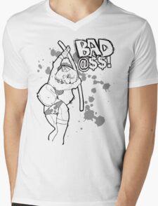 Bad @$$ Mens V-Neck T-Shirt