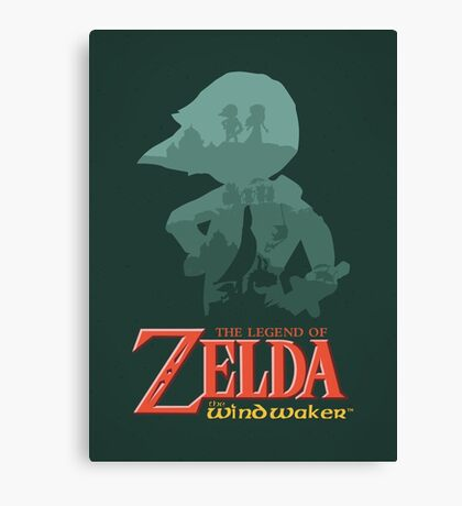 The Legend of Zelda: Wind Waker Canvas Print