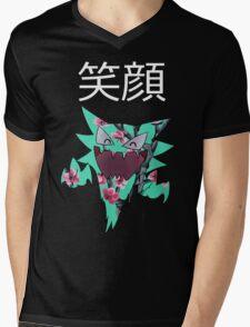 smile (: Mens V-Neck T-Shirt