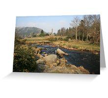 Early morning at Glendalough Greeting Card
