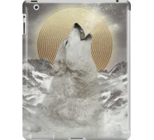 Turn Your Face To The Sun (Stay Gold Wolf) iPad Case/Skin