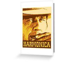 Harmonica Greeting Card