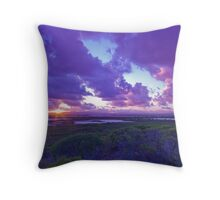 Sunrise near Leeman Throw Pillow