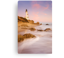 The Stubborn Lighthouse Canvas Print