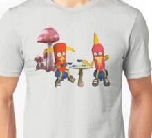 cafe mushrrom bar Unisex T-Shirt