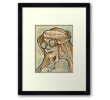 The Iron Woman 1 Framed Print