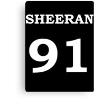 Sheeran 91 Canvas Print