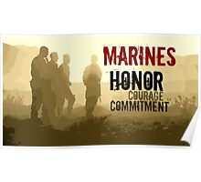 Marine Corps Values Poster
