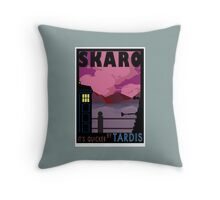 SKARO QUICKER BY TARDIS Throw Pillow