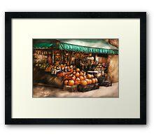 The Fruit Market Framed Print