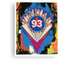 Valentine to Robert Indiana Canvas Print