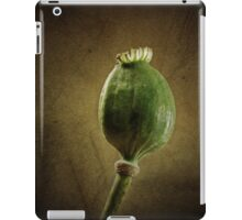Poppy seed capsule iPad Case/Skin