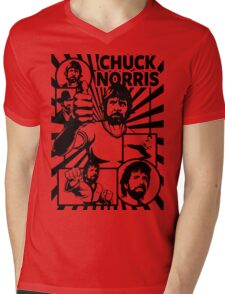 Chuck Norris Mens V-Neck T-Shirt