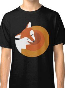 Sleeping Fox (Hounds Off) Classic T-Shirt