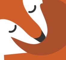 Sleeping Fox (Hounds Off) Sticker