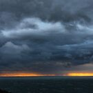 Stormy sunset by Robyn Lakeman
